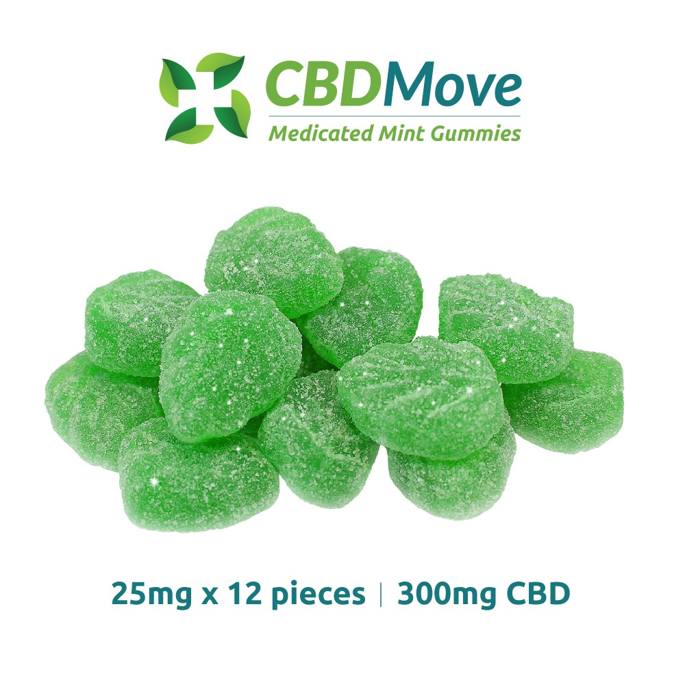 CBD Move Gummies Mint
