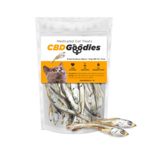CBD Goodies, Cat Treats, 100mg, All Natural