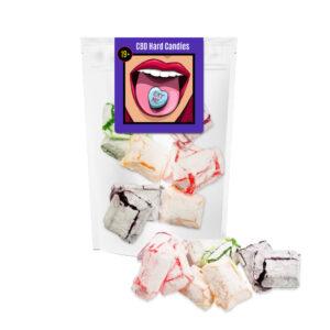 A bag of Eva's CBD Hard Candies.
