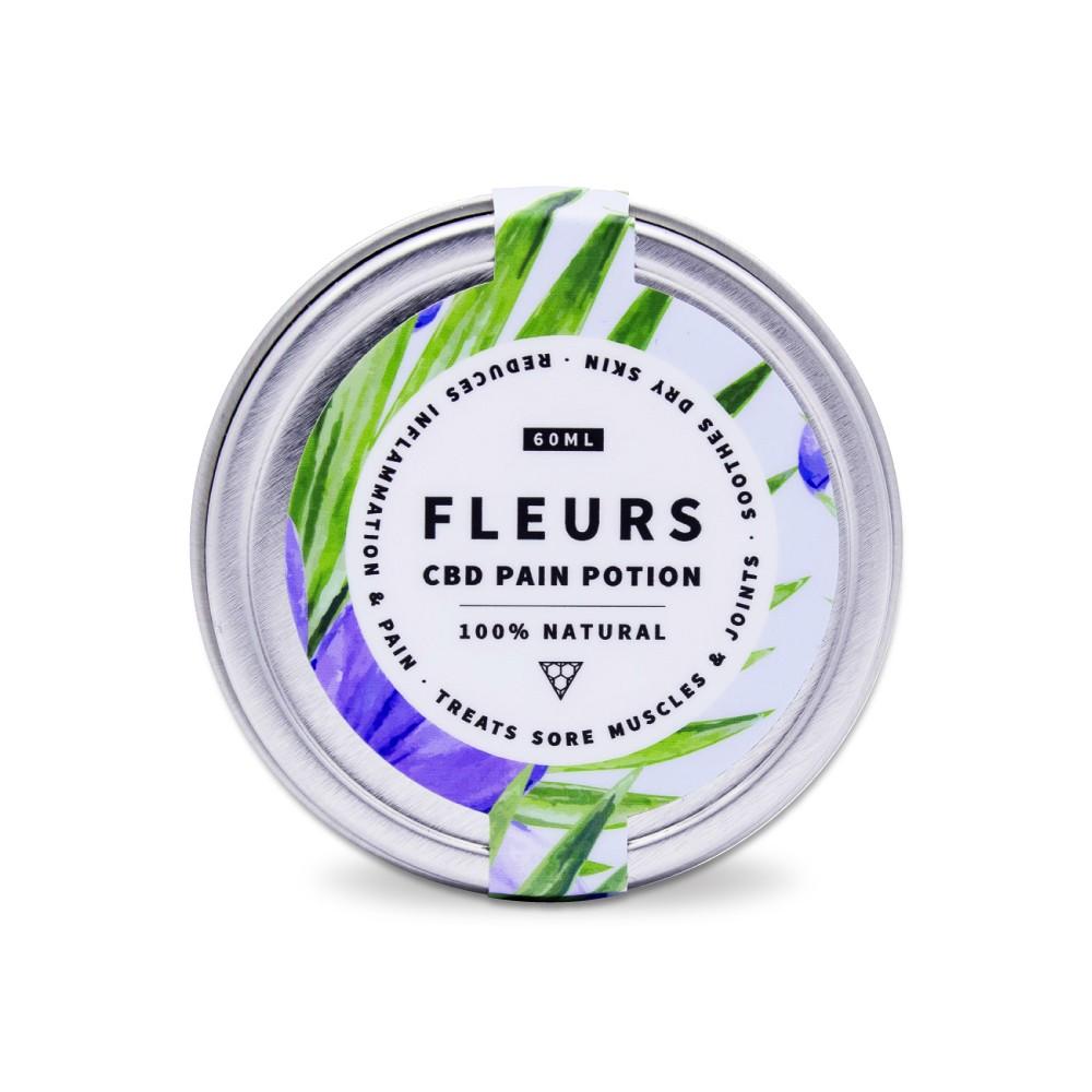 Fleurs CBD Pain Potion, 60ml. CBD Cargo. Order CBD Online, Canada-Wide