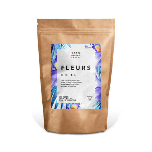 Fleurs CBD Tea, Chill. CBD Cargo. Order CBD Online, Canada-Wide